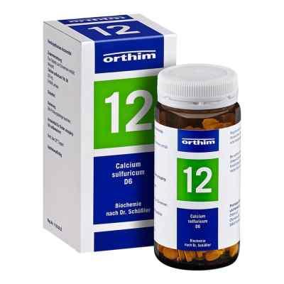 Biochemie Orthim 12 Calcium sulfuricum D 6 Tabletten   bei versandapo.de bestellen