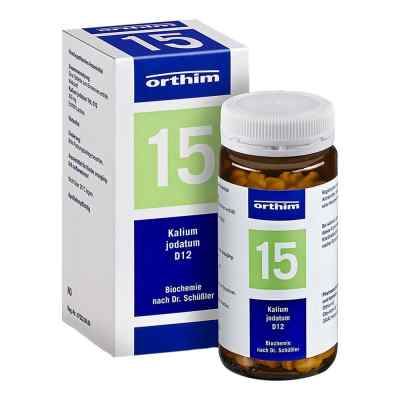Biochemie Orthim 15 Kalium jodatum D12 Tabletten  bei versandapo.de bestellen