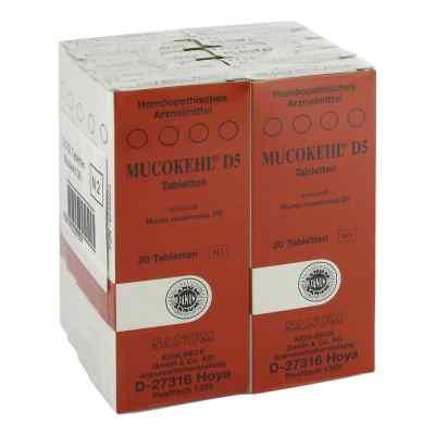 Mucokehl Tabletten D5  bei versandapo.de bestellen