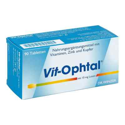 Vit Ophtal mit 10 mg Lutein Tabletten  bei versandapo.de bestellen