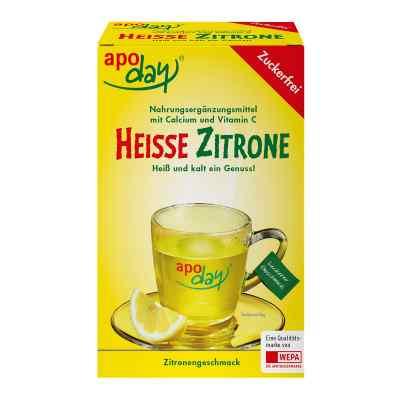 Apoday Heisse Zitrone Vitamine c und Calcium ohne Zucker  Plv  bei versandapo.de bestellen
