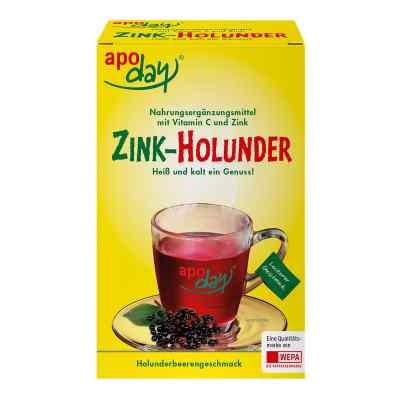 Apoday Holunder Vitamin C+zink ohne Zucker Pulver  bei versandapo.de bestellen