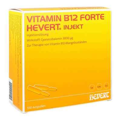 Vitamin B12 Hevert forte Injekt Ampullen  bei versandapo.de bestellen