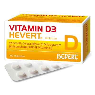 Vitamin D3 Hevert Tabletten  bei versandapo.de bestellen