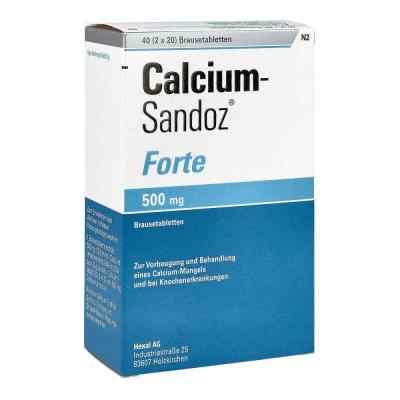 Calcium-Sandoz forte 500mg  bei versandapo.de bestellen