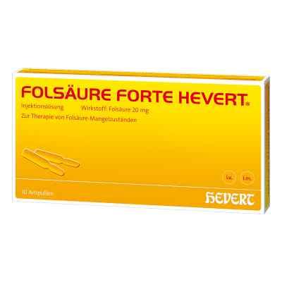 Folsäure Hevert forte Ampullen  bei versandapo.de bestellen