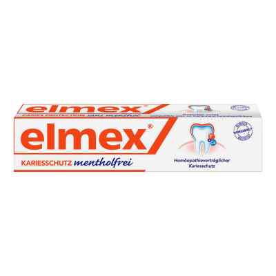 Elmex mentholfrei Zahnpasta mit Faltschachtel  bei versandapo.de bestellen