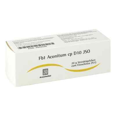 Jso Jkh Fiebermittel Fb 1 Aconitum cp D10 Globuli  bei versandapo.de bestellen