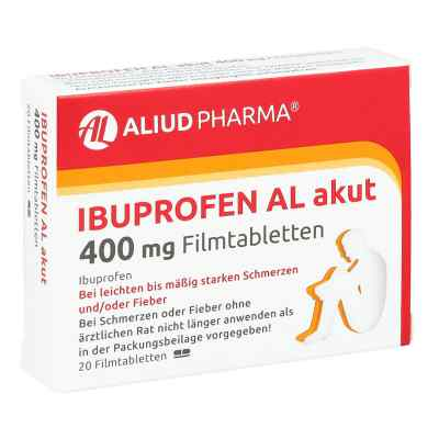 Ibuprofen AL akut 400mg  bei versandapo.de bestellen