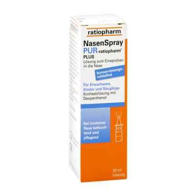 Nasenspray pur ratiopharm plus  bei versandapo.de bestellen