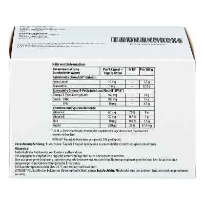 Vitalux Plus Lutein und Omega 3 Kapseln  bei versandapo.de bestellen