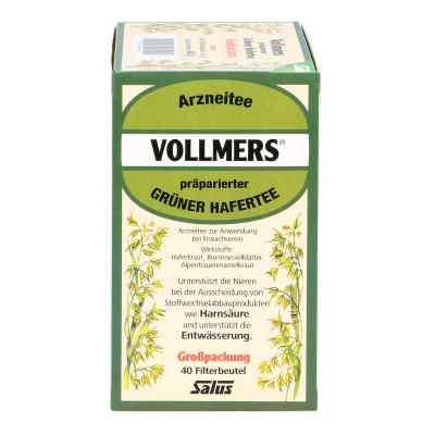 Vollmers präparierter grüner Hafertee Filterbeutel  bei versandapo.de bestellen
