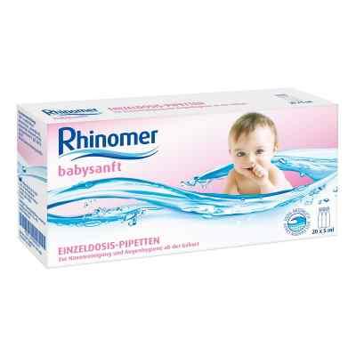 Rhinomer babysanft Meerwasser 5ml Einzeldosispipetten  bei versandapo.de bestellen