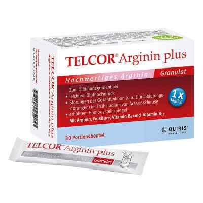 Telcor Arginin plus Beutel  Granulat  bei versandapo.de bestellen