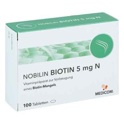 Nobilin Biotin 5 mg N Tabletten  bei versandapo.de bestellen