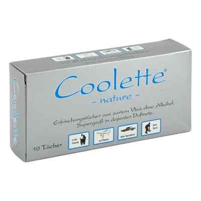 Coolette Nature Erfrischungstücher Vlies  bei versandapo.de bestellen