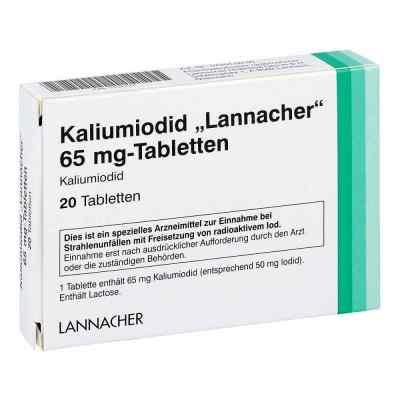 Kaliumiodid Lannacher 65 mg Tabletten  bei versandapo.de bestellen