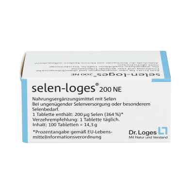 Selen Loges 200 Ne Tabletten  bei versandapo.de bestellen