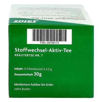 Stoffwechsel Aktiv Tee Kräutertee Nummer 7 bio Salus  bei versandapo.de bestellen