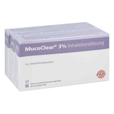 Mucoclear 3% Nacl Inhalationslösung  bei versandapo.de bestellen