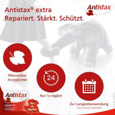 Antistax extra Venentabletten bei Venenschwäche  bei versandapo.de bestellen