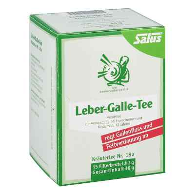 Leber Galle-tee Kräutertee Nummer 1 8a Salus Filterb.  bei versandapo.de bestellen