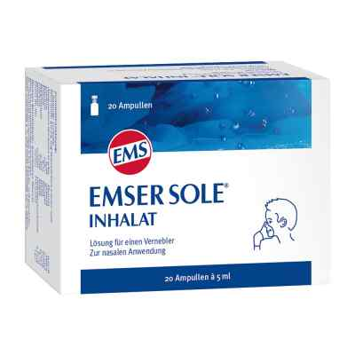 Emser Sole Inhalat Lösung für einen Vernebler  bei versandapo.de bestellen