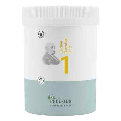 Biochemie Pflüger 1 Calcium fluor.D 12 Tabletten  bei versandapo.de bestellen