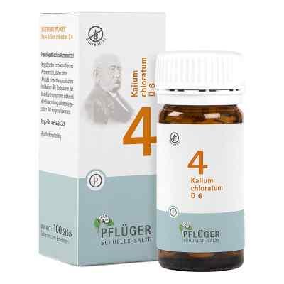 Biochemie Pflüger 4 Kalium chloratum D  6 Tabletten  bei versandapo.de bestellen