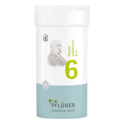 Biochemie Pflüger 6 Kalium Sulfur D  6 Tabletten  bei versandapo.de bestellen