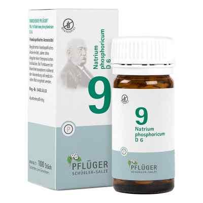 Biochemie Pflüger 9 Natrium phosphoricum D  6 Tabletten  bei versandapo.de bestellen
