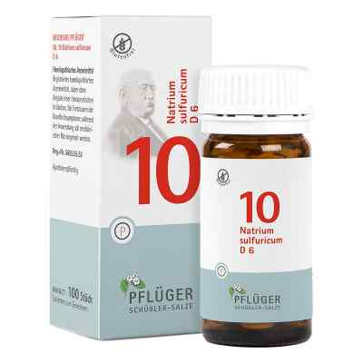 Biochemie Pflüger 10 Natrium Sulfur D  6 Tabletten  bei versandapo.de bestellen