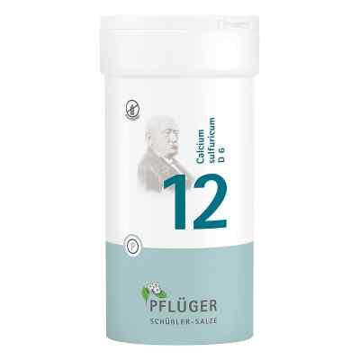 Biochemie Pflüger 12 Calcium Sulfur D  6 Tabletten  bei versandapo.de bestellen