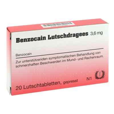 Benzocain Lutschdragees 3,6mg  bei versandapo.de bestellen