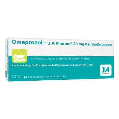 Omeprazol-1A Pharma 20mg bei Sodbrennen  bei versandapo.de bestellen