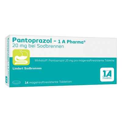 Pantoprazol-1A Pharma 20mg bei Sodbrennen  bei versandapo.de bestellen