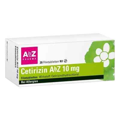 Cetirizin AbZ 10mg  bei versandapo.de bestellen