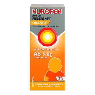 Nurofen Junior Fiebersaft Orange 2%  bei versandapo.de bestellen