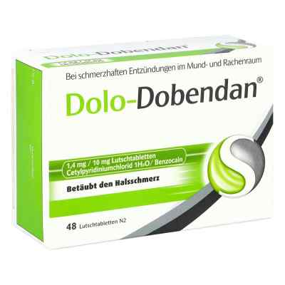 Dolo-Dobendan gegen Halsschmerzen 1,4mg/10mg  bei versandapo.de bestellen