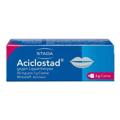 Aciclostad gegen Lippenherpes 50mg pro 1g  bei versandapo.de bestellen