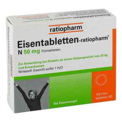 Eisentabletten-ratiopharm N 50mg  bei versandapo.de bestellen