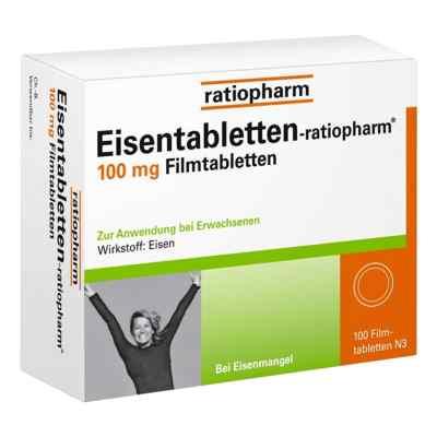 Eisentabletten-ratiopharm 100mg  bei versandapo.de bestellen