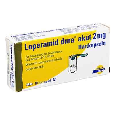 Loperamid dura akut 2mg  bei versandapo.de bestellen