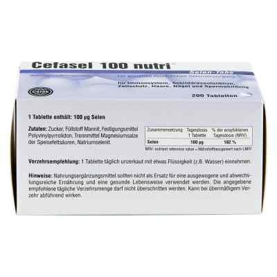 Cefasel 100 nutri Selen Tabs Tabletten  bei versandapo.de bestellen