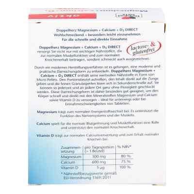 Doppelherz Magnesium + Calcium + D3 direct Pellets  bei versandapo.de bestellen