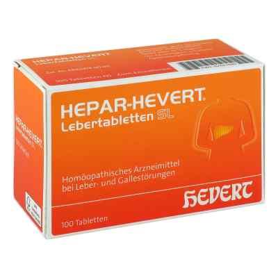 Hepar Hevert Lebertabletten Sl  bei versandapo.de bestellen