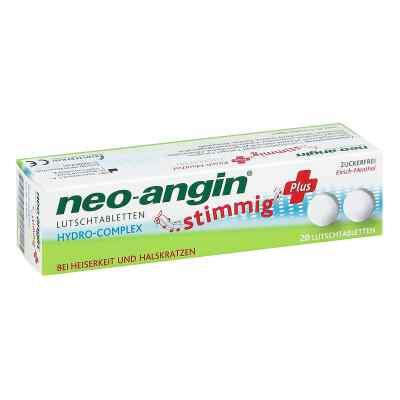Neo Angin stimmig Plus Kirsche Lutschtabletten  bei versandapo.de bestellen