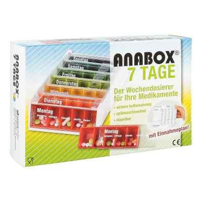 Anabox 7 Tage Regenbogen mit Einnahmeplan  bei versandapo.de bestellen