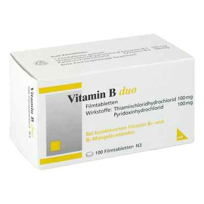 Vitamin B Duo Filmtabletten  bei versandapo.de bestellen