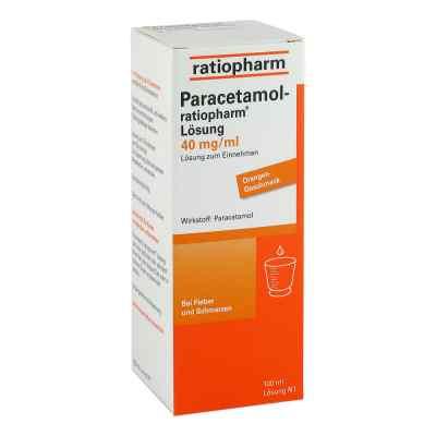 Paracetamol-ratiopharm 40mg/ml Lösung zum Einnehmen  bei versandapo.de bestellen